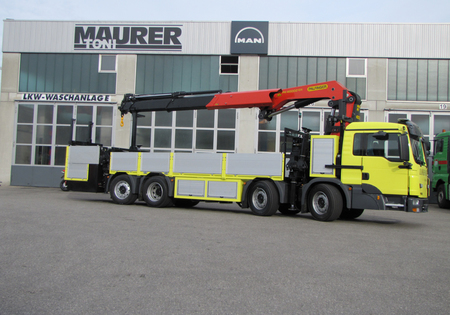 Crane Vehicle With Rear Engine